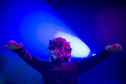 Actuación del grupo francés de música electrónica M83 en el festival Primavera Sound, en Barcelona.