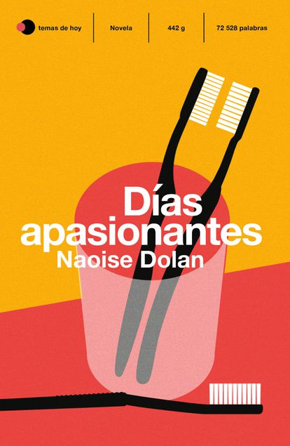 Cover of the novel 'Exciting days', by Naoise Dolan.