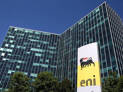 Las oficinas de ENI en Milán.