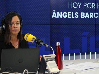 Àngels Barceló, en 'Hoy por hoy' de la cadena SER.
