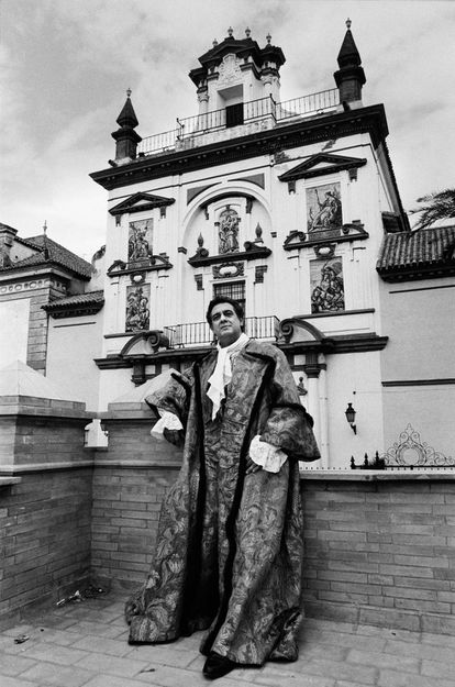 Plácido Domingo en Sevilla.