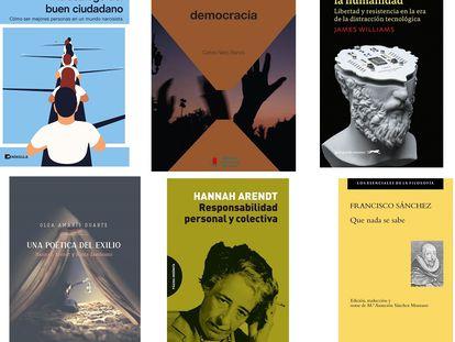 Libros de filosofía.