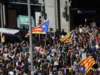La Guardia Civil detiene al equipo de Junqueras encargado de organizar el referéndum