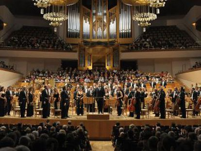 La Orquesta Nacional de España, en una actuación en 2011.