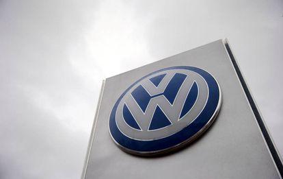 El logotipo de Volkswagen en Londres