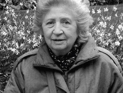 La paisajista Carmen Añón Feliú.