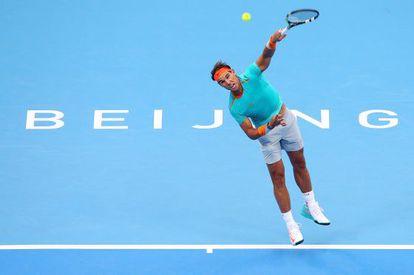 Rafael Nadal, en el torneo de Pekín.