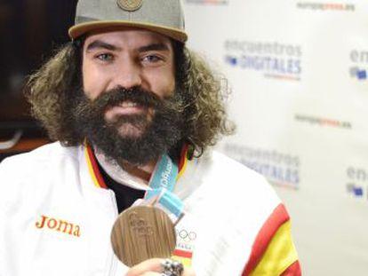 Con su medalla en Snowboardcross, acabó con 26 años de sequía del deporte español