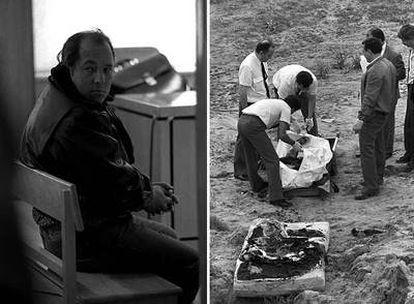 En la foto de la izquierda, Francisco García Escalero en un momento de la celebración del juicio seguido contra él en febrero de 1996.