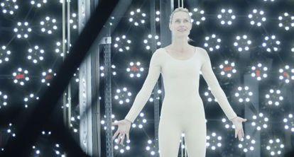 Robin Wright en una secuencia de 'El congreso', de Ari Folman.