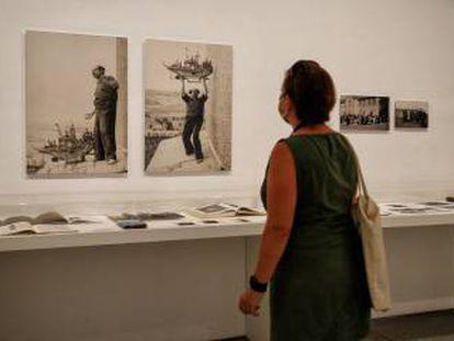 Inauguración de las nuevas salas dedicadas al exilio tras la Guerra Civil en el Museo Reina Sofía, Madrid.