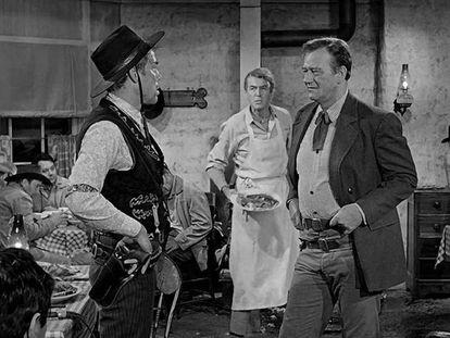 Fotograma de la pelicula de John Ford 'El hombre que mató a Liberty Valance'.
