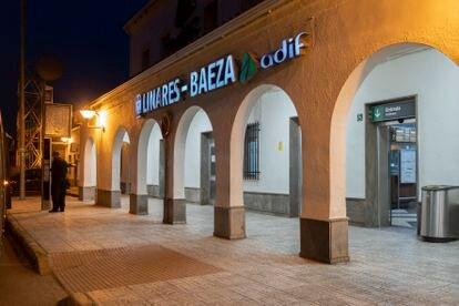 La estación de tren Linares-Baeza.