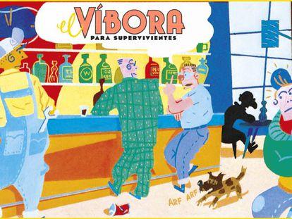 La revista 'El Víbora', el historietista Gallardo y un bar. Nada parecía que pudiera salir mal.