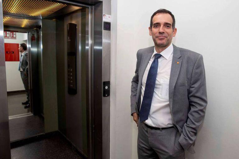 El portavoz del grupo parlamentario de VOX en la Asamblea Regional de Murcia, Juan José Liarte.