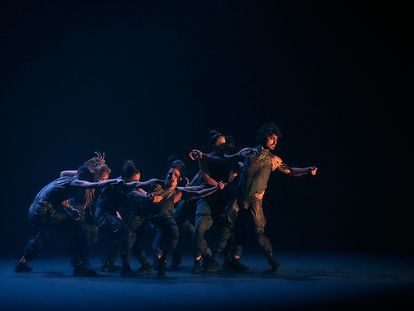 Imagen del espectáculo 'Ya no seremos', de la compañía de flamenco Ángel Rojas.