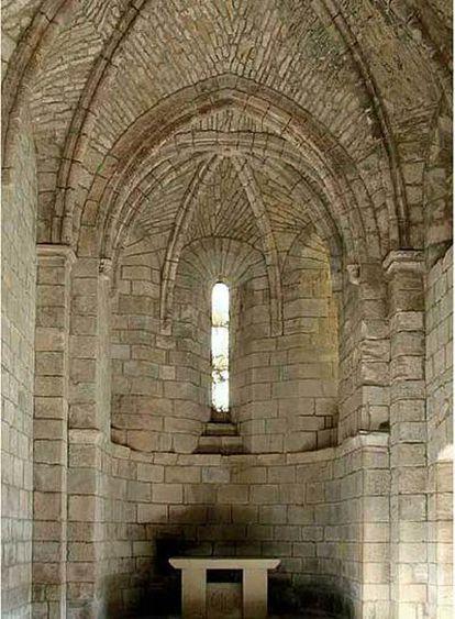 Iglesia en Aguilar de Codés.