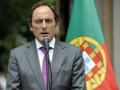 Paulo Portas, el dimisionario ministro de Exteriores.