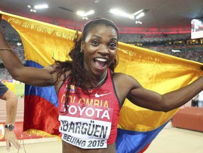 La atleta colombiana Caterine Ibargüen.