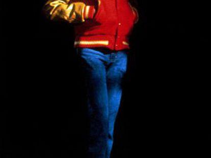 Michael Jackson, en el videoclip de 'Thriller'.