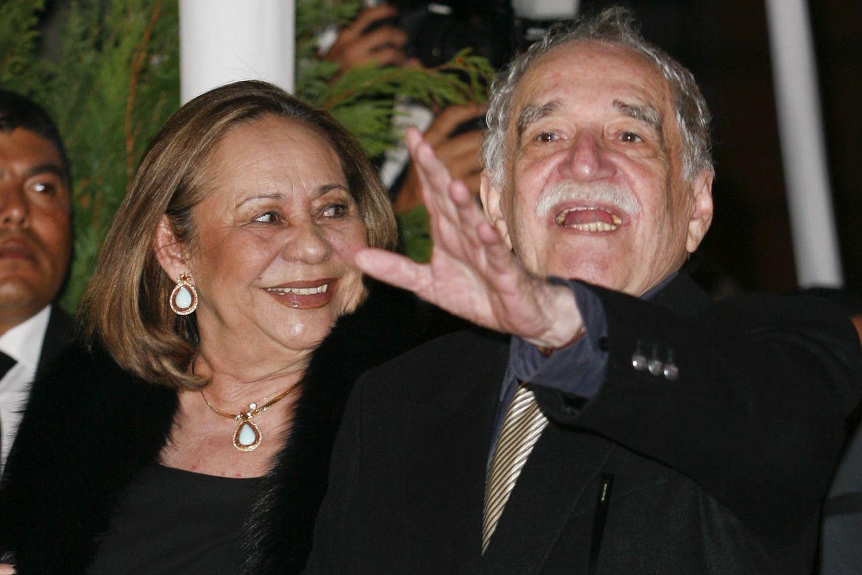 Gabriel Garcia Marquez y su mujer, Mercedes Barcha, en octubre de 2010.