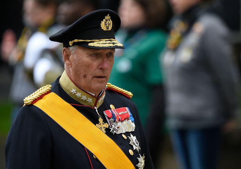 El rey Harald V de Noruega, en una imagen de mayo de 2020 tomada en Luxemburgo.