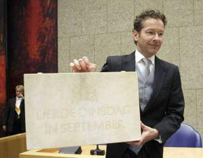 El ministro holandés de Finanzas, Jeroen Dijsselbloem. EFE/Archivo