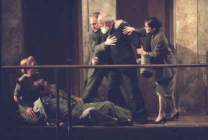 El montaje de 'Historia de una escalera' en el Centro Dramático Nacional en 2003 fue la última gran producción de una obra de Buero.