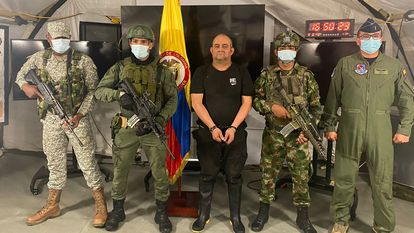 Detenido ellíder de la mayor banda de narcotráfico de Colombia