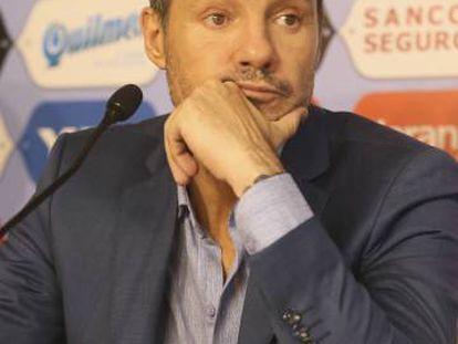 Marcelo Tinelli, vicepresidente de San Lorenzo.