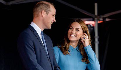 Guillermo de Inglaterra y Kate Middleton, el pasado septiembre.