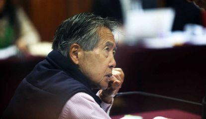El expresidente peruano Alberto Fujimori, en una foto de archivo.