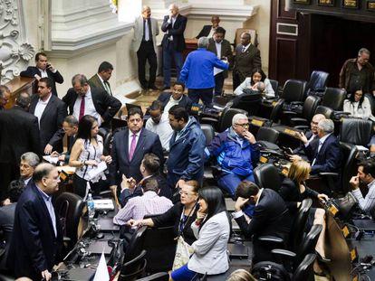 Una de las sesiones de la Asamblea Nacional, el pasado 5 de diciembre.