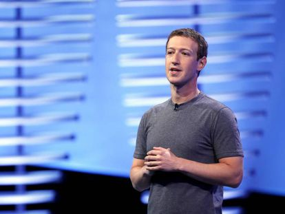 Mark Zuckerberg en una conferencia en San Francisco en 2016.