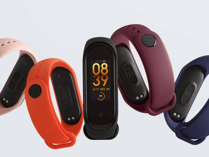 La pulsera de actividad Xiaomi Mi Band 4 tiene pantalla a color y monitor de natación.