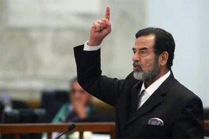 El ex dictador, hoy durante la sesión en la que se ha leído el veredicto contra él.