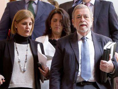 Antonio Beteta, con la alcaldesa de Jerez María José García-Pelayo.