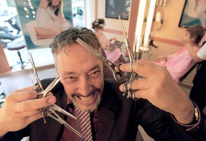 El peluquero y estilista Lluís Llongueras.