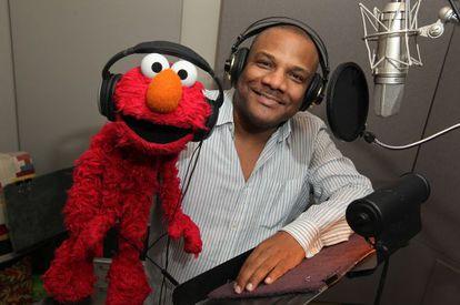 Kevin Clash, el actor que da voz al personaje de 'Barrio Sésamo' Elmo.