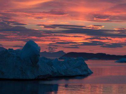 Los investigadores realizaron una expedición en 2014 a los fiordos del norte de Groenlandia para contrastar los datos obtenidos por satélite.