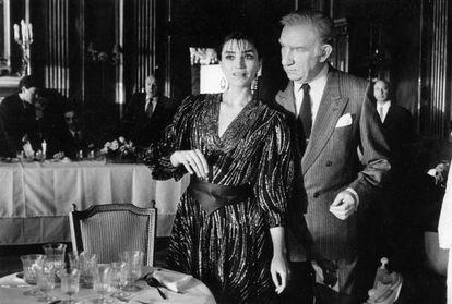 Ángela Molina y Fernando Fernán Gómez, en 'La mitad del cielo' (1986), de Gutiérrez Aragón.
