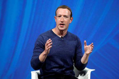 Mark Zuckerberg, hoy en Viva Tech en París.