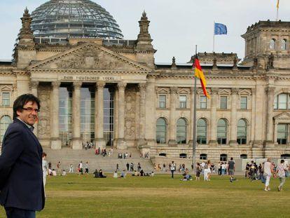 Puigdemont en Berlín, el pasado 23 de mayo.