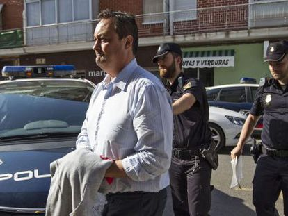 Vicente Huerta, dueño de Avialsa, la empresa que supuestamente sobornó al ex delegado del Gobierno Serafín Castellano.