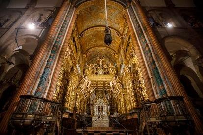 Altar mayor de la catedral de Santiago.