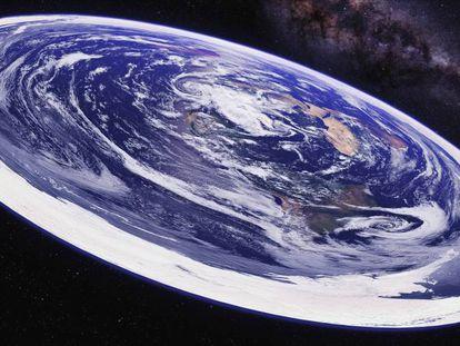 Los terraplanistas son miles en todo el mundo. Según estas personas, nuestro planeta es un disco plano situado en el centro del universo y rodeado de un enorme muro de hielo, como en 'Juego de tronos'.
