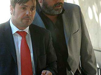 El ex presidente de Tele 5 Miguel Durán, a su llegada a la Audiencia.