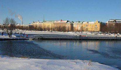Una imagen de Helsinki.