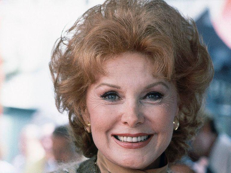Rhonda Fleming, en 1981.