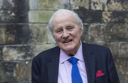 El historiador John Julius Norwich, en 2014.